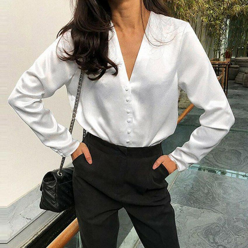 Best Quality Women's Silk Blouse